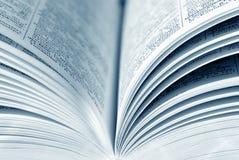 Geopend boek Stock Foto's