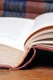 Geopend boek stock fotografie