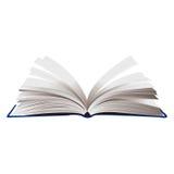 Geopende boek vectorillustratie Royalty-vrije Stock Foto's