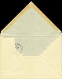 Geopende envelop Royalty-vrije Stock Foto's