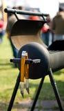 Geopende grill Royalty-vrije Stock Afbeeldingen
