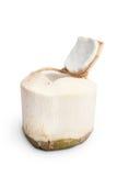 Geopende jonge kokosnoot Stock Foto