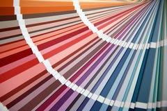 Geopende kleur Stock Foto