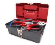Geopende toolbox Royalty-vrije Stock Afbeeldingen