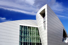 Geophysical Insitute modern architecure in Alaska Stock Images