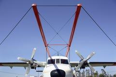 Geophysical Survey Plane Royalty Free Stock Photos