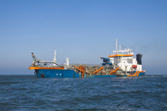 Geopotes 14 dredging Royalty Free Stock Photos