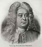 Georg Friedrich Handel Photos stock