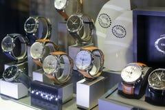 Georg jensen watches shop Royalty Free Stock Photos