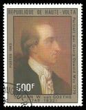 Georg Oswald May durch Johann von Goethe Stockbilder