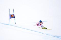 Georg Streitberger - Fis World Cup. Georg Streitberger (Austria) - Val Gardena Gröden, Italy - Super G - FIS Alpine Ski World Cup - 19 December 2008 Royalty Free Stock Photography