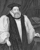 George Abbot. (1562-1633) on engraving from the 1800s.  English divine and Archbishop of Canterbury. Engraved by W.T.Mote and published by the London Printing Stock Images