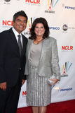 George & Anna Lopez arriving at the 2009 ALMA Awards Stock Photography