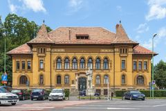 George Baritiu County Library, Brasov, Romania Stock Image