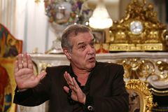 George Becali Royalty-vrije Stock Fotografie