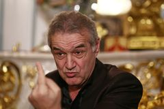 George Becali Royalty-vrije Stock Foto