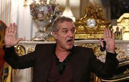 George Becali images stock