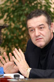 George Becali Stock Image
