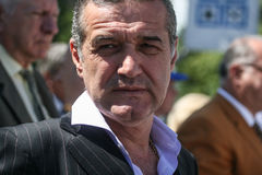 George Becali Imagens de Stock Royalty Free