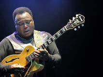 George Benson in Italien, Mailand, am 11. Juli 2014 stockfotos
