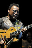 George Benson in Italy, Milan, July 11, 2014 Royalty Free Stock Photography