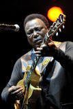 George Benson in Italy, Milan, July 11, 2014 Royalty Free Stock Photo