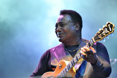 George Benson in Italy, Milan, July 11, 2014 Stock Photography