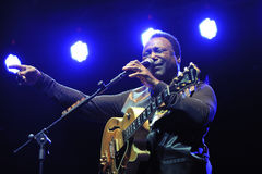 George Benson in Italy, Milan, July 11, 2014 Stock Photos