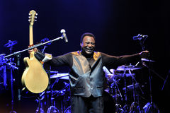 George Benson in Italy, Milan, July 11, 2014 Royalty Free Stock Image