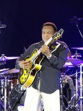 George Benson.  in Moscow Stock Photography