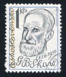 George Bernard Shaw obraz royalty free
