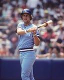 George Brett. Kansas City Royals 3B George Brett.  (Image taken from color slide Stock Photo