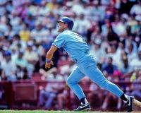 George Brett, Kansas City Royals. Kansas City Royals legend George Brett, #5. Image from color slide Royalty Free Stock Image