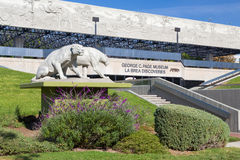 George C. Page Museum at Le Brea Tar Pits Stock Photos
