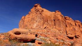 George canyon st Utah śniegu Obrazy Royalty Free