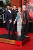 George Chakiris, Kenny Ortega, Rita Moreno, Russ Tamblyn Royalty Free Stock Photography