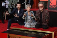 George Chakiris, Rita Moreno, Russ Tamblyn Royalty Free Stock Image