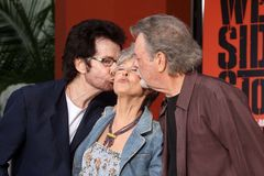 George Chakiris, Rita Moreno, Russ Tamblyn Royalty Free Stock Photos