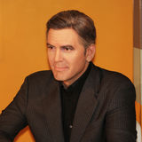 George Clooney. A wax figure of George Clooney at Madame Tussauds in Washington D.C Royalty Free Stock Photos