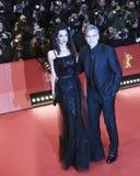 George Clooney, Amal Alamuddin Fotografia Stock