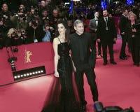 George Clooney, Amal Alamuddin Royalty Free Stock Image