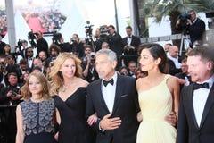 George Clooney and Amal Alamuddin, Jodie Foster, Julia Roberts, Stock Photo
