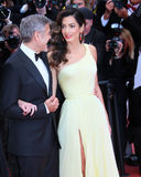 George Clooney, Amal Clooney Royalty Free Stock Images