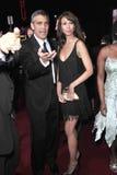 George Clooney, Sarah Larson Στοκ Εικόνες