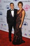 Stacy Keibler, George Clooney στοκ εικόνα με δικαίωμα ελεύθερης χρήσης