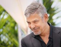 George Clooney assiste au ` de monstre d'argent de ` Image stock