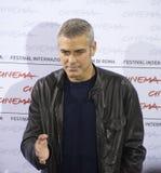George Clooney, Fotoaufruf lizenzfreie stockbilder