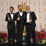 Ben Affleck, George Clooney Fotografia Royalty Free