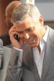 George Clooney, John-Vertiefungen stockbilder
