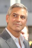 George Clooney, John-Vertiefungen lizenzfreies stockbild